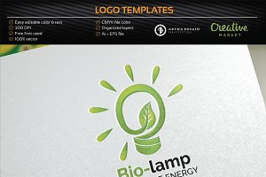 Bio Lamp / Energy - Logo Template