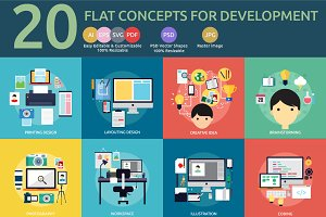 Flat Concept Design Development