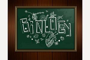 Biology Blackboard Image