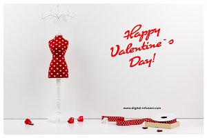 Valentine`s Day Styled Photo