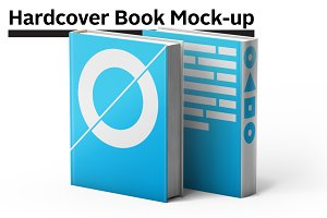 Hardcover Book Mock-up