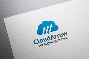 Cloud Arrow Logo
