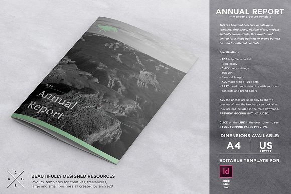 20 annual report templates to present your progress in style