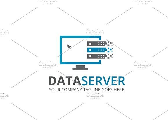 data server logo logo templates creative market