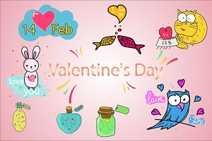 cute drawings and patterns.14 FEB