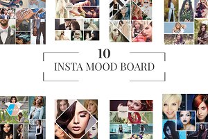 10 Instagram Mood Board Templates V1