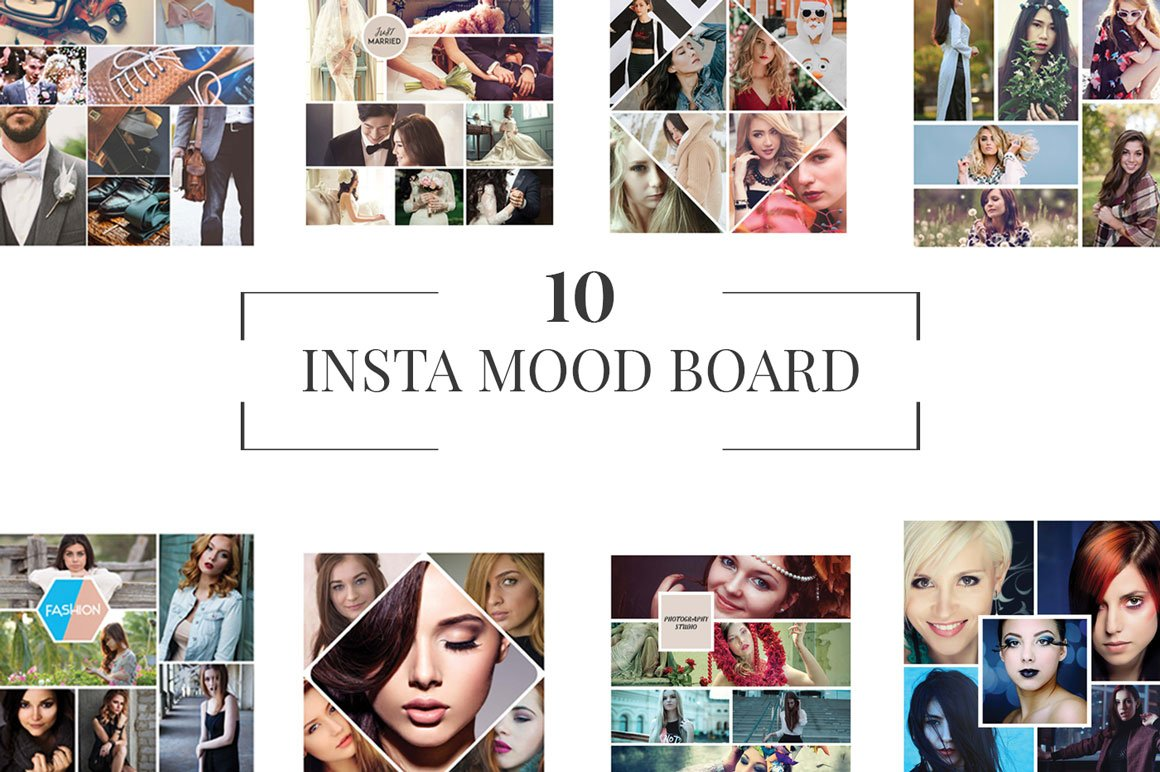 10 Instagram Mood Board Templates V1