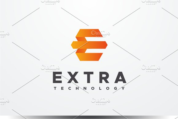 Extra - Letter E Logo