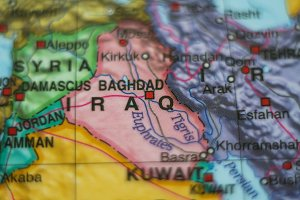 iraq country on map .