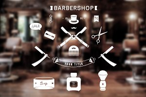 Barber Shop Set