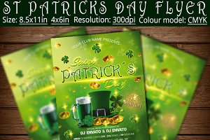 St Patricks Day Flyer Poster