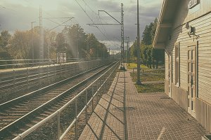 Train station of Latvia