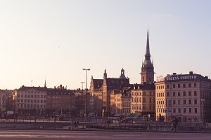 Downtown Stockholm