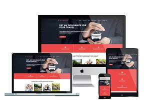 AT INSURY- Insurance Joomla Template