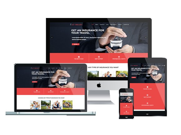 AT INSURY-Insurance Joomla Template