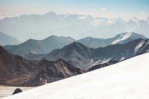 Beautiful Mountains range Landscape