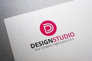 Design Studio- Letter D Logo