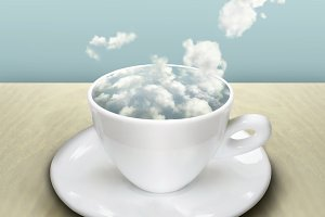 The Cup with Clouds