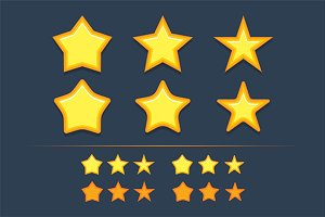 Collection star icons