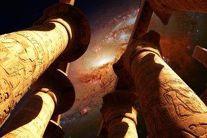 Karnak and Galaxy M106