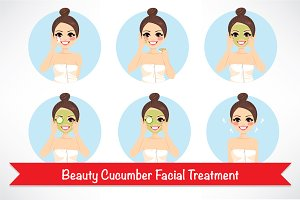 Beauty Cucumber Facial Treatment