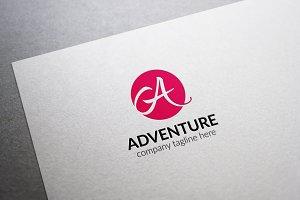 Adventure Letter A Logo V2