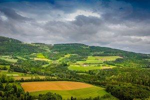 Landscape view / hills