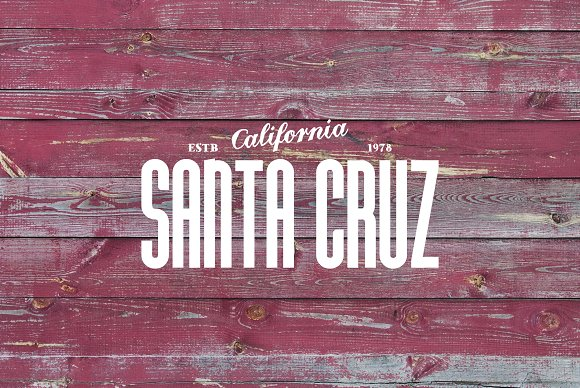Santa Cruz Font