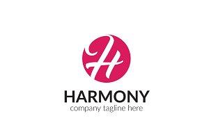 Harmony Letter H Logo