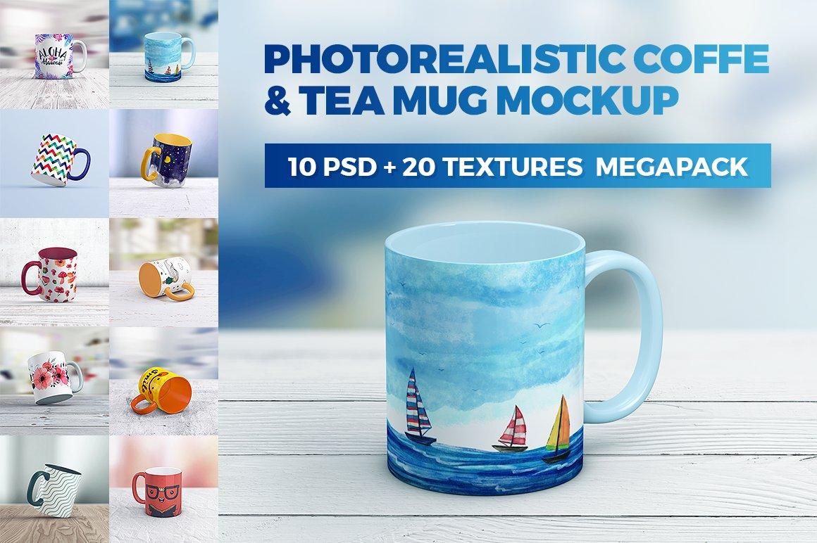 Coffe Mug MockUp MegaPack - Product Mockups