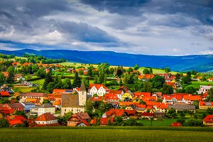 Lovely village  / landscape