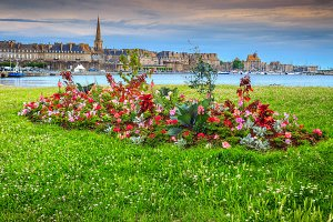 Walled city of Saint Malo