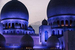 Purple Domes, Abu Dhabi Grand Mosque