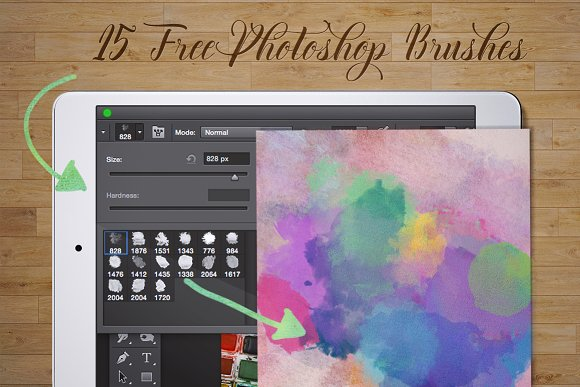 60%Off Watercolor Kit + Free Brushes in Illustrations - product preview 6