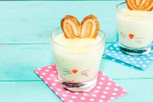 Funny dessert for Easter