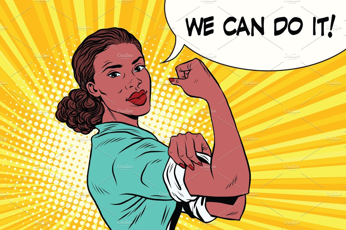We Can Do It Black Woman Feminism And Protest