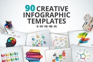 Creative infographics templates