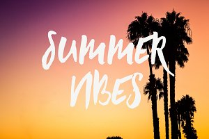 Summer Vibes Font