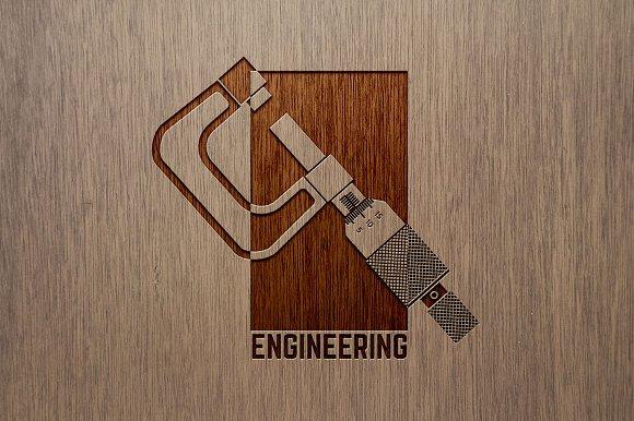 Engineering Company Logo Template