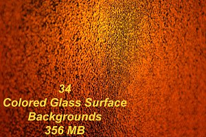 34 Colored Glass Backgrounds