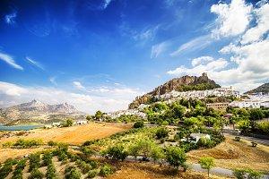 Zahara de la Sierra, Cadiz.