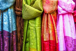 Pashminas in the Arab market