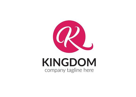 Kingdom Letter K Logo