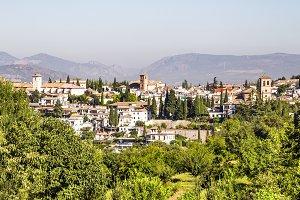 Albaicin in Granada, Spain.