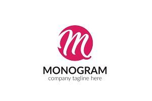 Monogram Letter M Logo