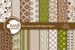 Bare Autumn Chill Papers AMB-1404