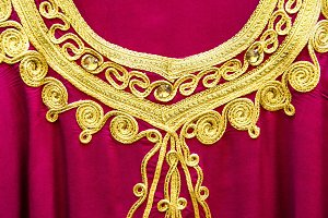Arab dress detail