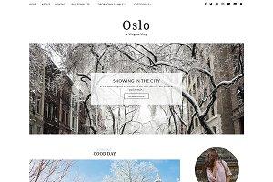Responsive Blogger Template - OSLO