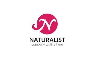 Naturalist Letter N Logo