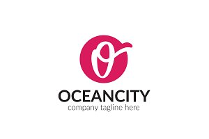 Oceancity Letter O Logo